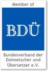 Member of BDÜ e.V.
